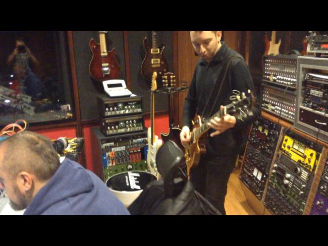 Łzy - studio nagraniowe