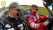 Robert Klatt za kierownicą Audi 80 cabrio i Lotus Exige
