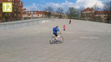 Nietypowy skatepark w centrum Szczecina