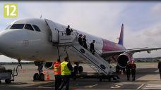Nowy airbus na wylądował na gdańskim lotnisku