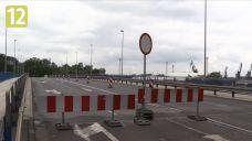 Most Cłowy częściowo zamknięty. Duże utrudnienia dla kierowców