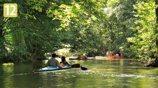 Dolina Krutyni. Spływ kajakowy wśród dzikiej przyrody