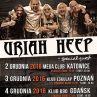 Uriah Heep na trzech koncertach w Polsce w 2016: bilety, daty koncertów i inne informacje!
