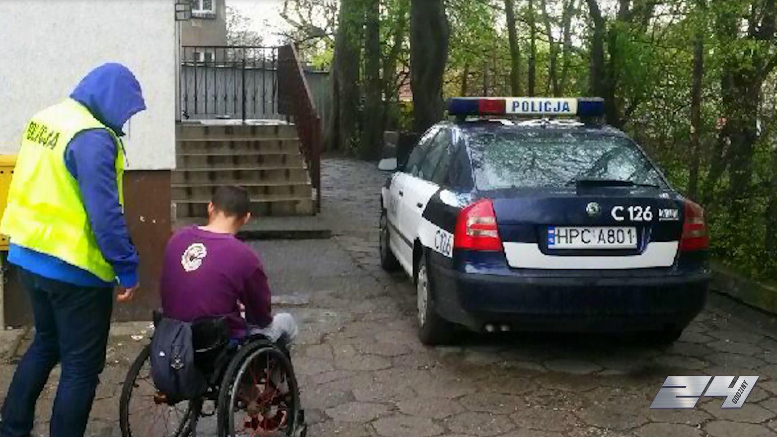 Bezrobotny na wózku inwalidzkim dilerem narkotyków