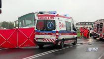 Wypadek na Opolszczyźnie. Autokar z dziećmi zderzył się z fordem