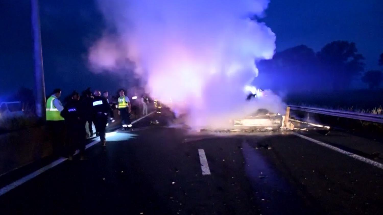 Francja: tragiczna śmierć kierowcy polskiej furgonetki
