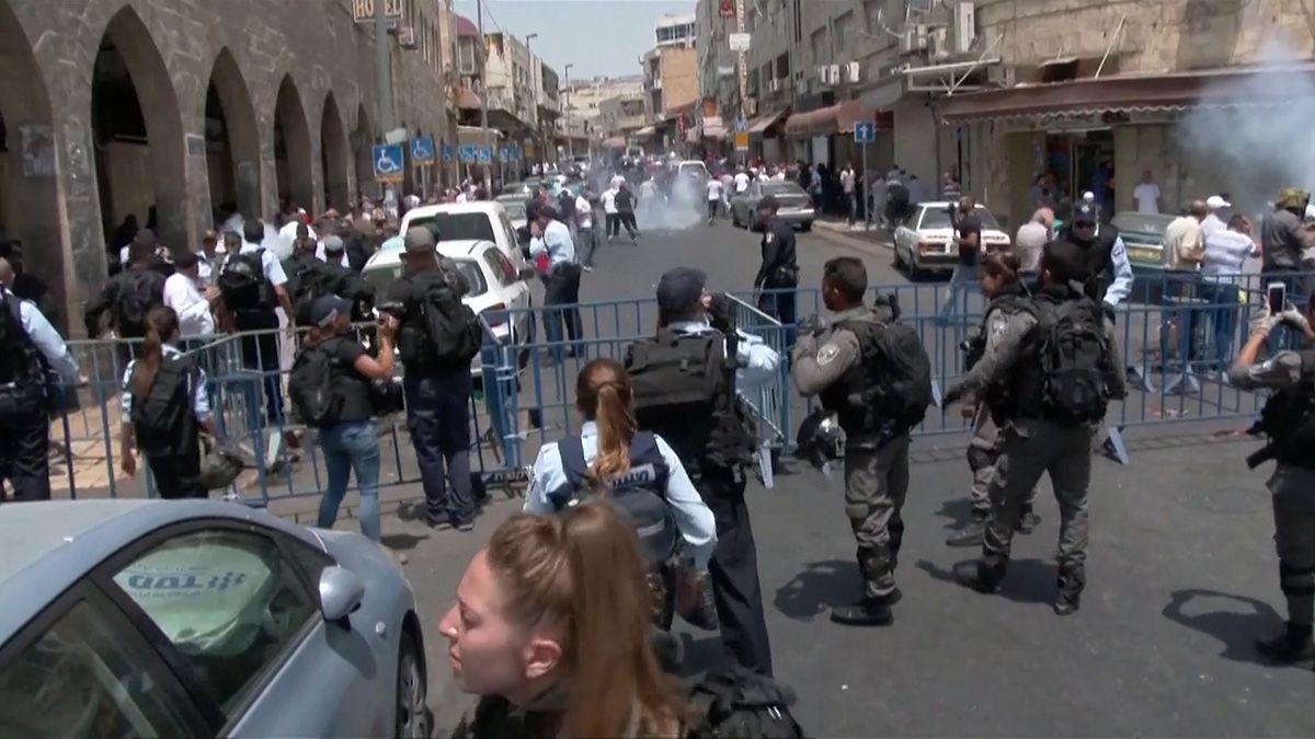 Krwawy protest w Jerozolimie