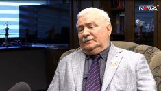"""""""Tu i teraz"""". Wałęsa o PiS: to są ludzie niebezpieczni"""