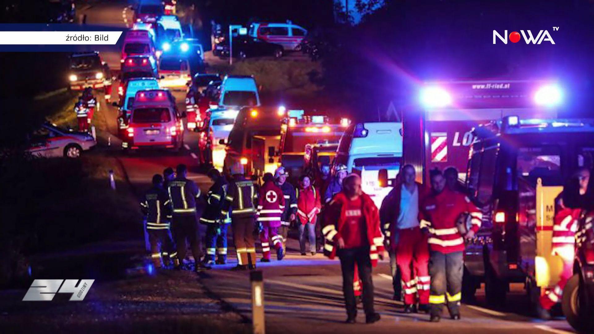 Potężna nawałnica niedaleko Salburga w Austrii. Nie żyją dwie osoby, kilkadziesiąt jest rannych.