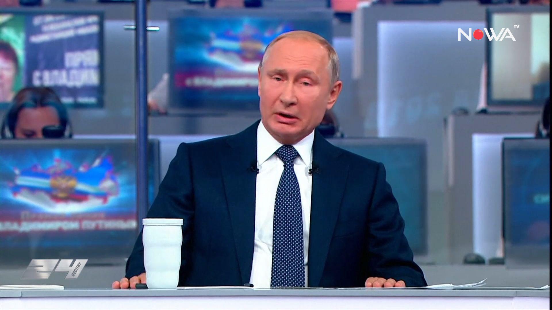 Putin dla narodu – coroczna konferencja prezydenta Rosji