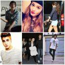 Miley Cyrus, Justin Bieber, Selena Gomez, Demi Lovato, Honey, Dawid Kwiatkowski