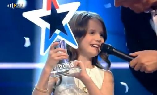9-latka Amira Willighagen wygrała Holland's Got Talent 6
