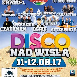 Disco nad Wisłą 2017: BILETY, PROGRAM