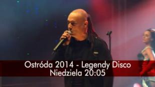Już w niedzielę o 20.05 zapraszamy Was na koncert Legendy Disco w ramach XIX Ogólnopolskiego Festiwalu Muzyki Tanecznej Ostróda 2014 , tylko w POLO TV