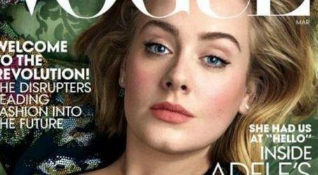 Adele na okładce Vogue!
