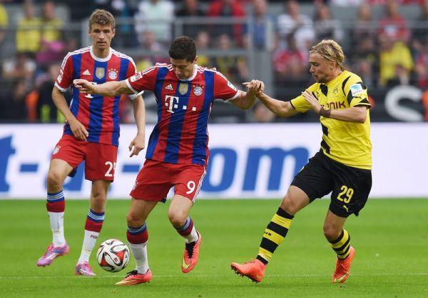 LM: Bayern wygrywa w hicie ligi