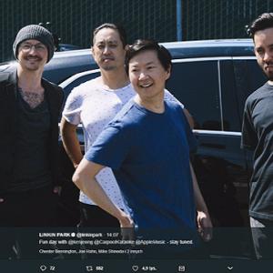 Linkin Park w Carpool Karaoke. Odcinek nagrany przed śmiercią Chestera Benningtona