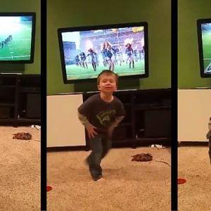 Chłopiec tańczy jak Beyonce na Super Bowl. W tym maluchu płynie słowiańska krew [VIDEO]