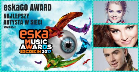 ESKA Music Awards 2017: najlepszy artysta w sieci
