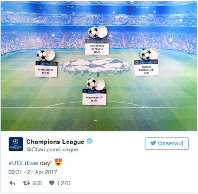 Mecze Ligi Mistrzów 1/2 - KTO Z KIM zagra w półfinale?
