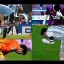 Messi znalazł sposób na wymioty! :)