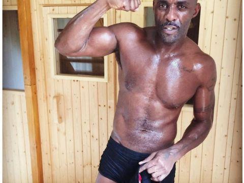 Idris Elba trenuje kickboxing