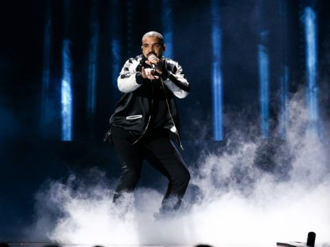 Drake na koncercie