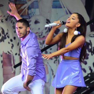 Ariana Grande i Ricky Alvarez