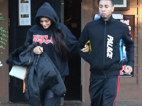 Kylie Jenner i Tyga
