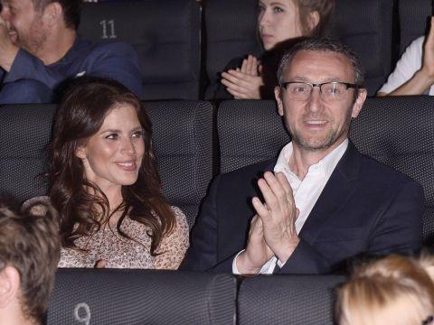 Weronika Rosati w ciąży na premierze filmu