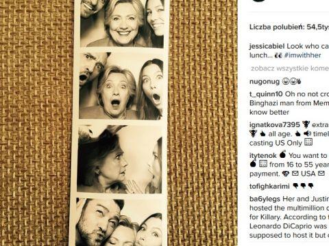 Justin Timberlake i Jessica Biel wspierają Hillary Clinton