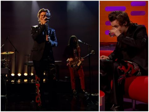 Harry Styles w Graham Norton Show