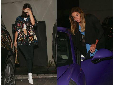 Kendall Jenner, Caitlyn Jenner