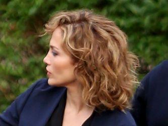Jennifer Lopez na planie serialu Shades Of Blue