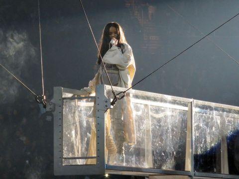 Rihanna zdjęcia z koncertu