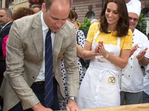 Kate i William w Niemczech