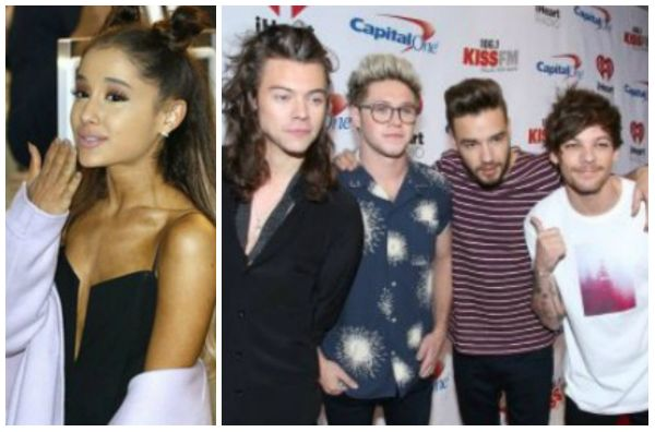 one direction and ariana grande dating pics