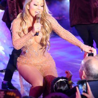 Mariah Carey - koncert sylwestrowy w Nowym Jorku