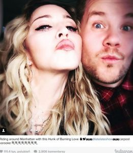 Madonna w Carpool Karaoke
