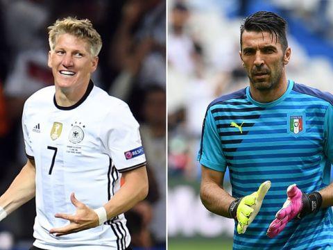 EURO 2016 - mecz Niemcy Włochy