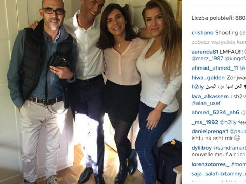 Cristiano Ronaldo i Marisa Mendes - nowa dziewczyna CR7