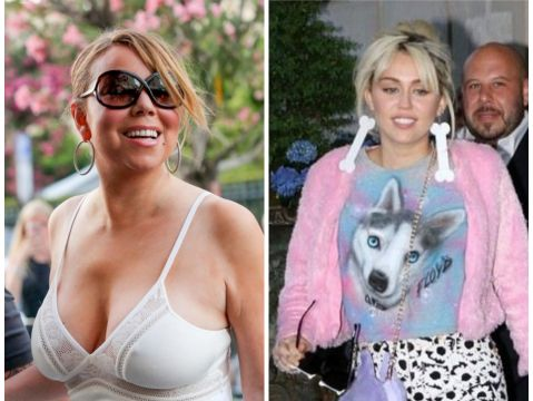 Miley Cyrus, Mariah Carey