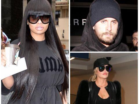 Blac Chyna, Scott Disick, Khloe Kardashian