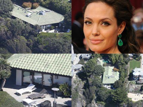 Angelina Jolie, dom w Malibu