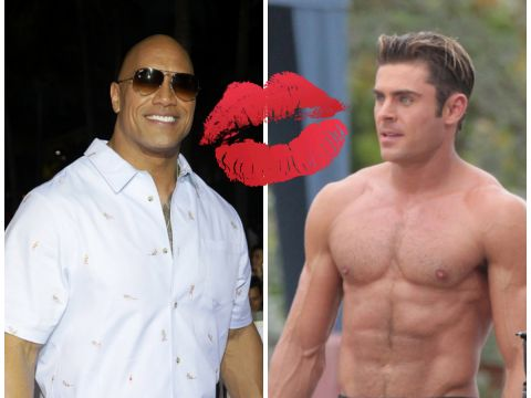 Dwayne The Rock Johnson, Zac Efron