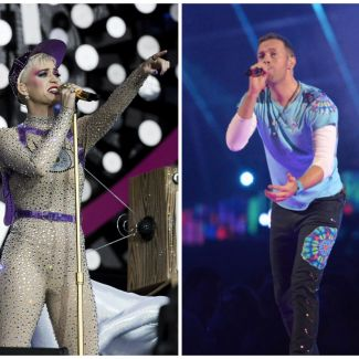 Katy Perry, Chris Martin