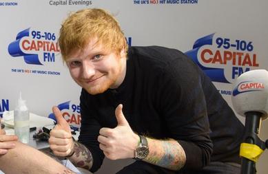 Zdjęcie z artykułu: EMA 2017: Ed Sheeran Najlepszym Zagranicznym Artystą! Zobacz VIDEO!