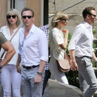 Taylor Swift i Tom Hiddleston w Rzymie
