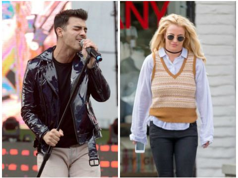 Joe Jonas, Britney Spears