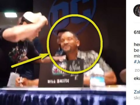 Comic Con 2016 - Henry Cavill i Will Smith